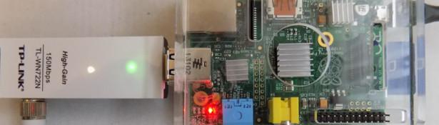 Karta tp-link w raspberry pi