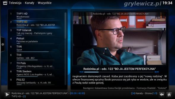 Telewizja dvb-t na OpenELEC