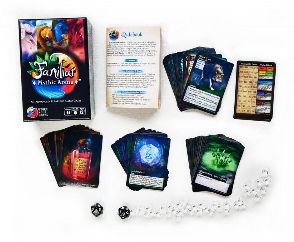 Familiar game contents