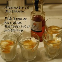 Moltesirup - alternativ til Moltekrem