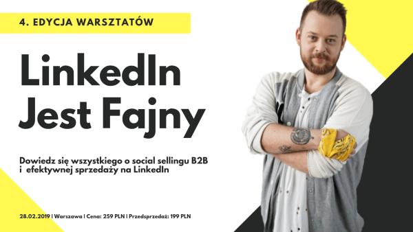 LinkedIn Jest Fajny 4 edycja