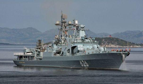 Российские военные спасли украинских моряков