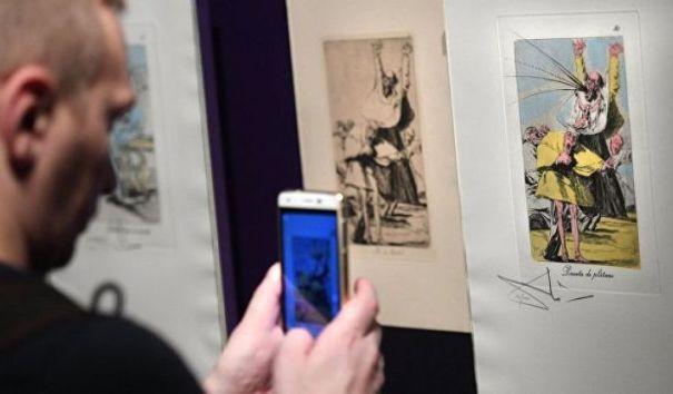 Выставка Гойи и Дали помогает широкому образованию