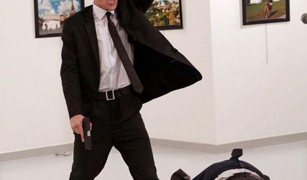 Фотография с места убийства посла России в Турции стала победителем конкурса World Press Photo