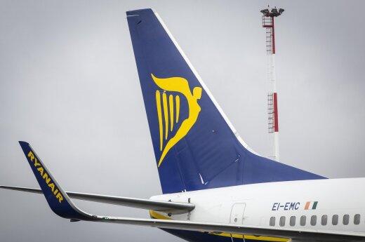 """""""Ryanair"""" keičia registracijos į skrydį tvarką"""