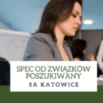 Spec odzwiązków wSA Katowice poszukiwany
