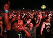 Hip Hop fans enjoy the performance of Wu-Tang Clan during the Rock the Bells Festival in Devore on Sunday, September 8, 2013.
