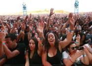 Hip Hop fans enjoy ASAP's performance during the Rock the Bells Festival in Devore on Sunday, September 8, 2013.