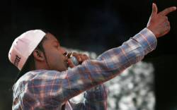 ASAP Mob performs during the Rock the Bells Festival in Devore on Sunday, September 8, 2013.
