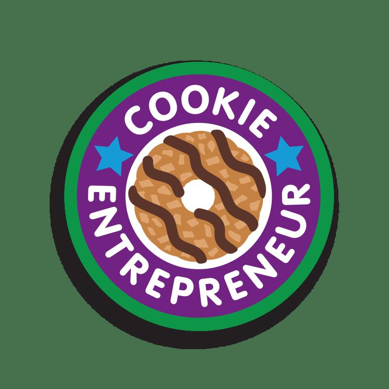 Cookie Entrepreneur Patch