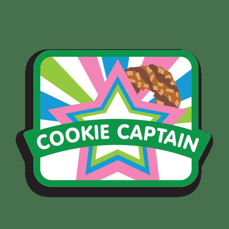 Cookie Captain Patch