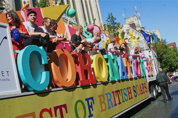 The Gay Pride Festival in Brighton returns for(