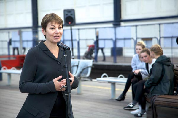 Caroline Lucas MP for Brighton Pavilion