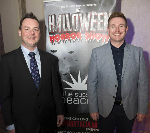 Simon Dowe: CEO Sussex Beacon and David Hill from E3