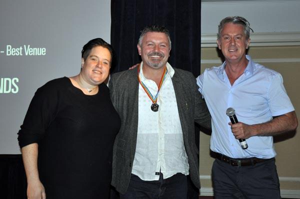 Dexter Allen with Dulcie Weaver and Paul Kemp