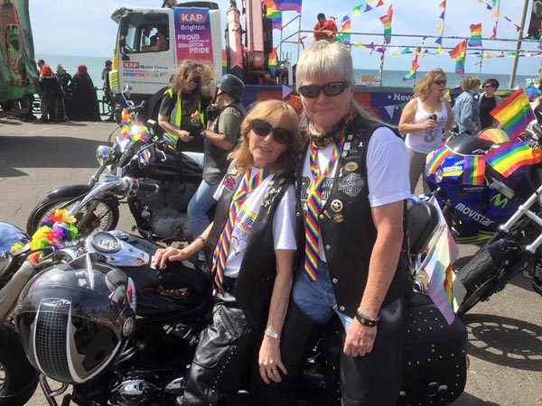 Lesbian motorcycle clubs in california