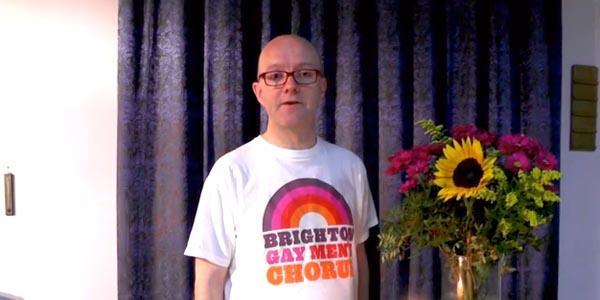 Paul Charlton, Chair of Brighton Gay Men's Chorus