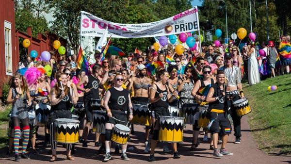 Åland Pride: Photo Kim Söderbäck
