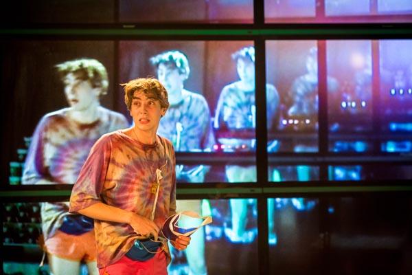 Alex Arnold as Robbie: Photo by Helen Murray