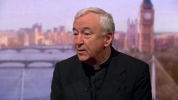 Cardinal Vincent Nichols, Archbishop of Westminster