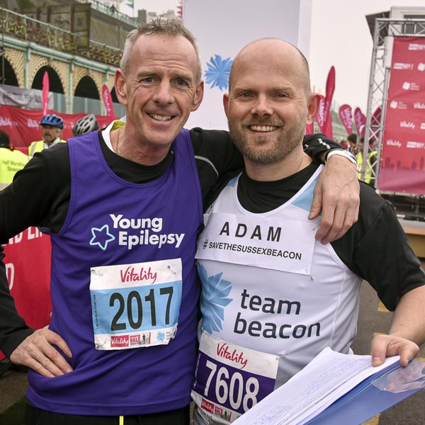 Norman Cook (aka Fatboy Slim) signs the petition for Adam: Photo: Nick Ford