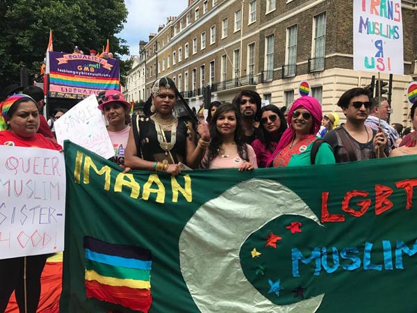 Imaan march at London Pride