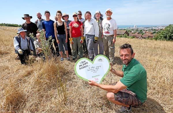 Countryside volunteers