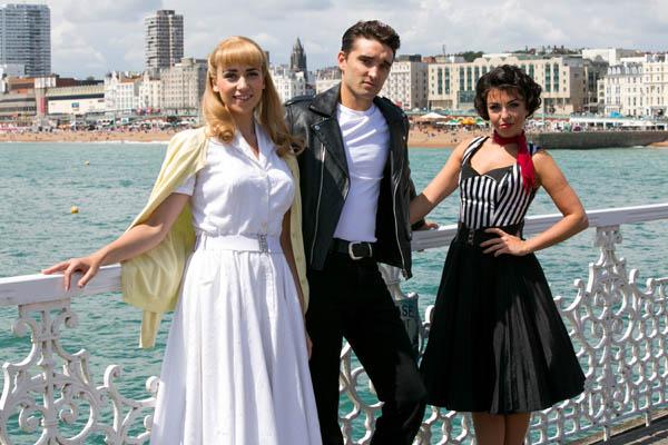 Danielle Hope, Tom Parker and Louisa Lytton on Brighton Palace Pier: Image ©Pete Jones