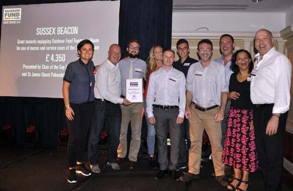 Rainbow Awards Sussex Beacon