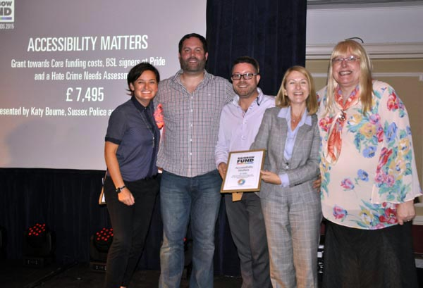 Rainbow Awards Accessibility Matters