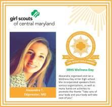 Gold Award for facebook Alexandra Turano