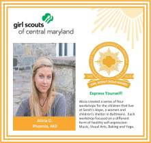 Gold Award for facebook Alicia DePasquale