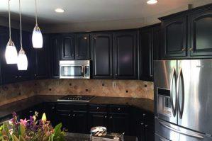 Elegant kitchen cabinets