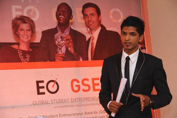 Interviewing a past GSEA Nepal winner