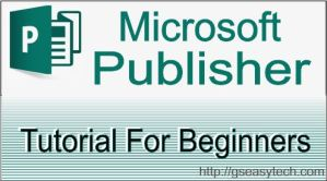 Ms-Publisher Tutorial For Beginner in Hindi