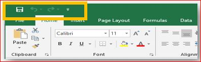 The-quick-access-toolbar-location