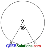 GSEB Solutions Class 10 Maths Chapter 12 Areas Related to Circles Ex 12.2