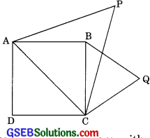 GSEB Solutions Class 10 Maths Chapter 6 Triangle Ex 6.4