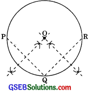 GSEB Solutions Class 9 Maths Chapter 10 Circles Ex 10.3