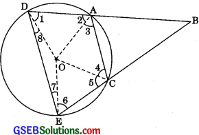 GSEB Solutions Class 9 Maths Chapter 10 Circles Ex 10.6