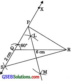 GSEB Solutions Class 9 Maths Chapter 11 Constructions Ex 11.2
