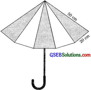 GSEB Solutions Class 9 Maths Chapter 12 Heron's Formula Ex 12.2