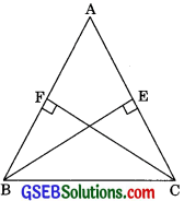 GSEB Solutions Class 9 Maths Chapter 7 Triangles Ex 7.2