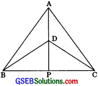 GSEB Solutions Class 9 Maths Chapter 7 Triangles Ex 7.3