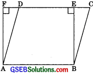 GSEB Solutions Class 9 Maths Chapter 9 Areas of Parallelograms and Triangles Ex 9.4