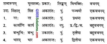 GSEB Solutions Class 9 Sanskrit Chapter 16 अजेयः स भविष्यति