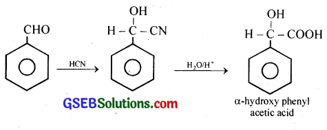 GSEB Solutions Class 12 Chemistry Chapter 12 Aldehydes, Ketones and Carboxylic Acids 34