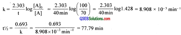 GSEB Solutions Class 12 Chemistry Chapter 4 Chemical Kinetics img 19