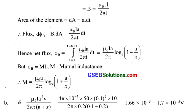 GSEB Solutions Class 12 Physics Chapter 6 Electromagnetic Induction 17