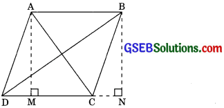 GSEB Solutions Class 10 Maths Chapter 6 Triangles Ex 6.6 img-6